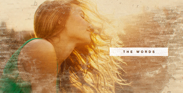 The Words Slideshow - Download Videohive 10855159