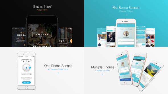 The7 App Presentation Kit - Download Videohive 18359237
