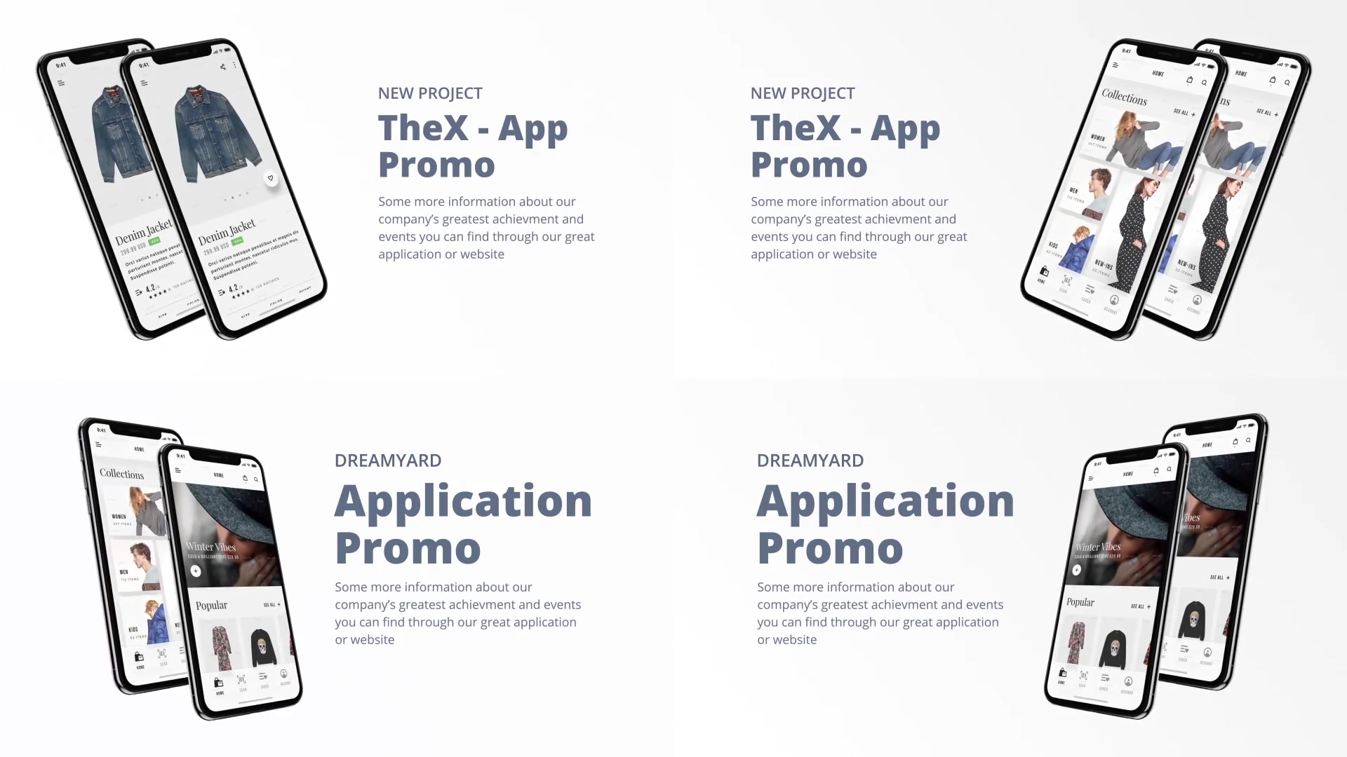 TheX App Presentation Kit - Download Videohive 21365745