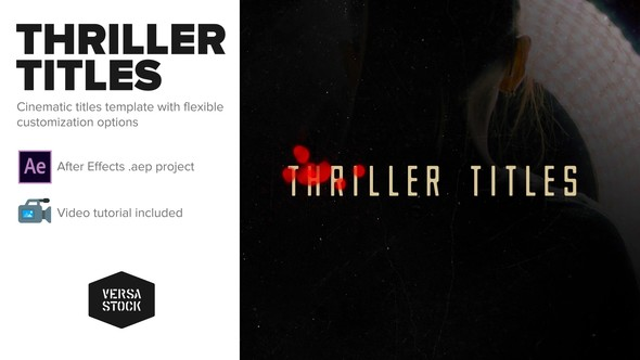 Thriller Titles - Download Videohive 22595716