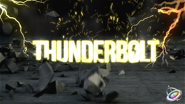 Thunderbolt Reveal Apple Motion - Download Videohive 10766994