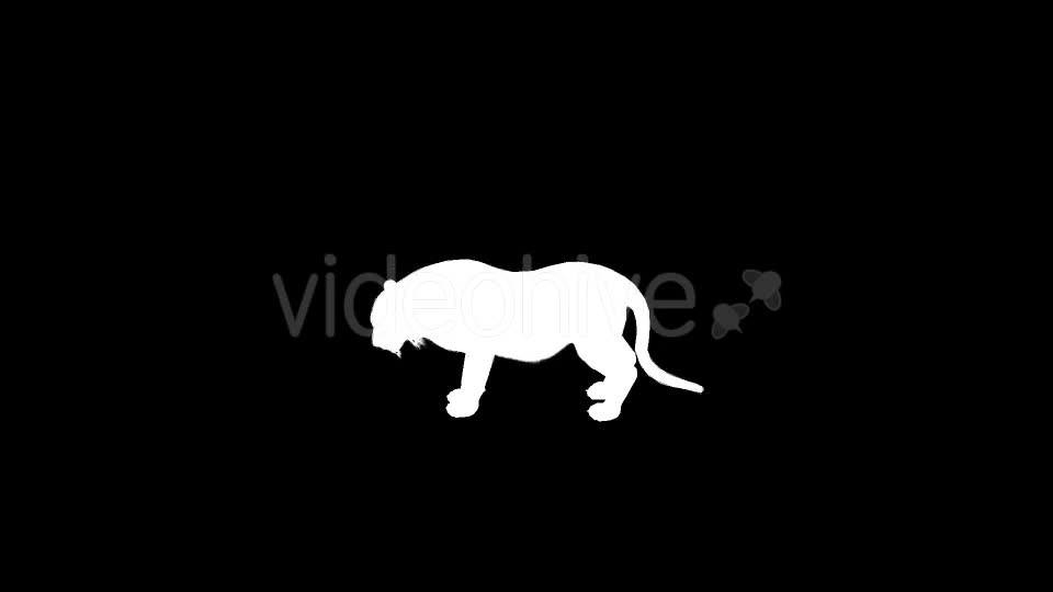 Tiger Silhouettes 9 Pack - Download Videohive 21223410