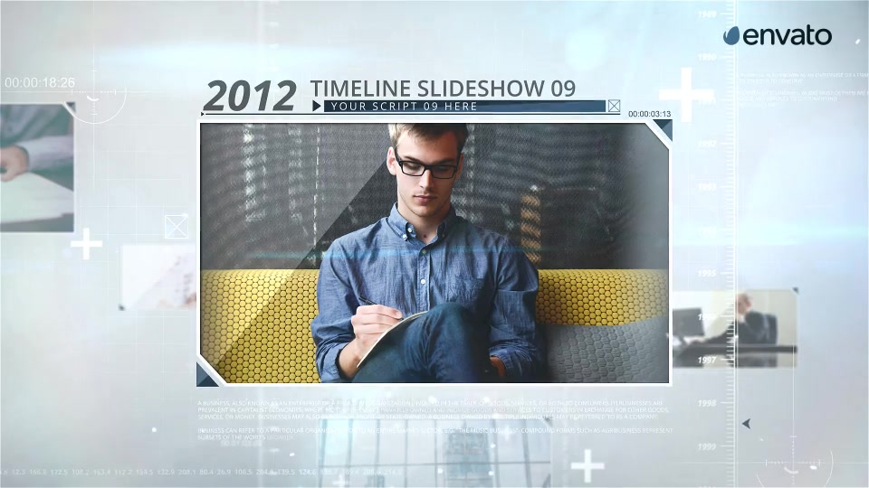 Timeline Image Slideshow - Download Videohive 18833104