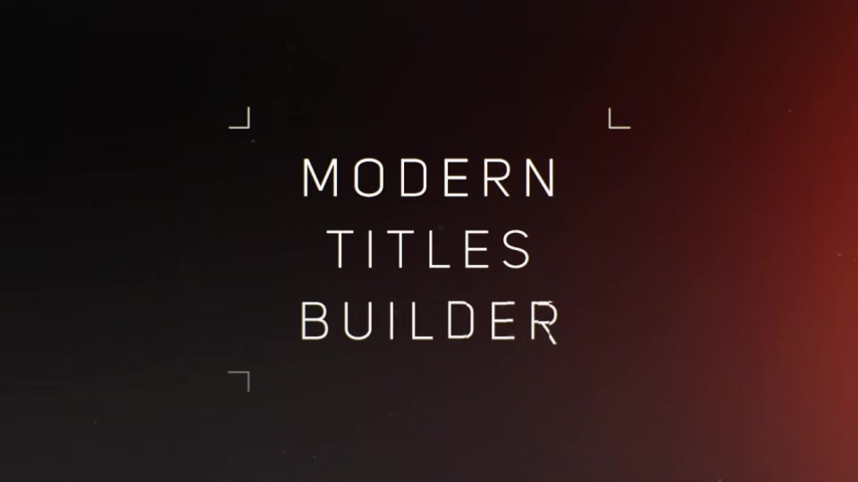 Titles Builder - Download Videohive 19916287