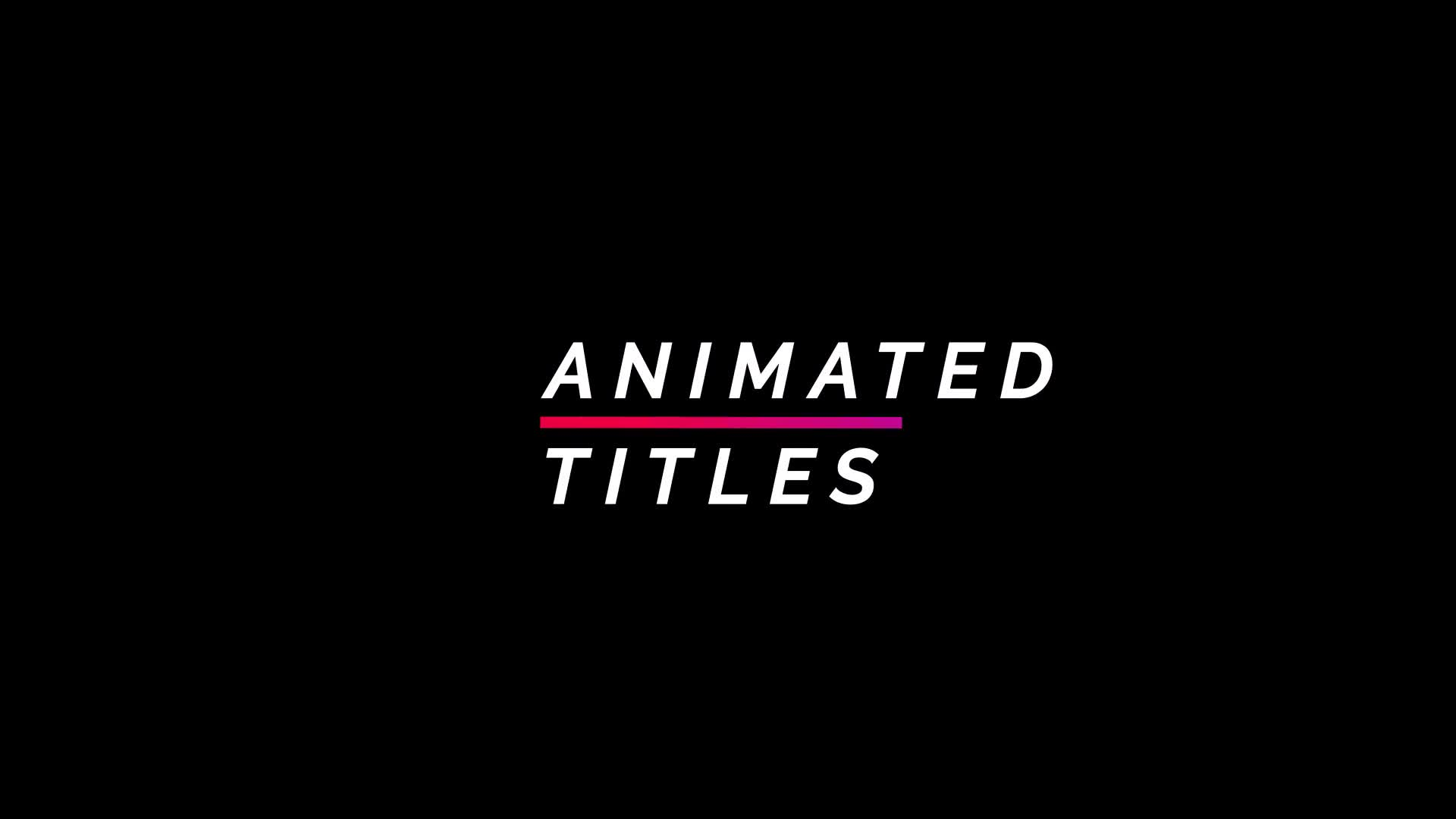 Titles - Download Videohive 20483960