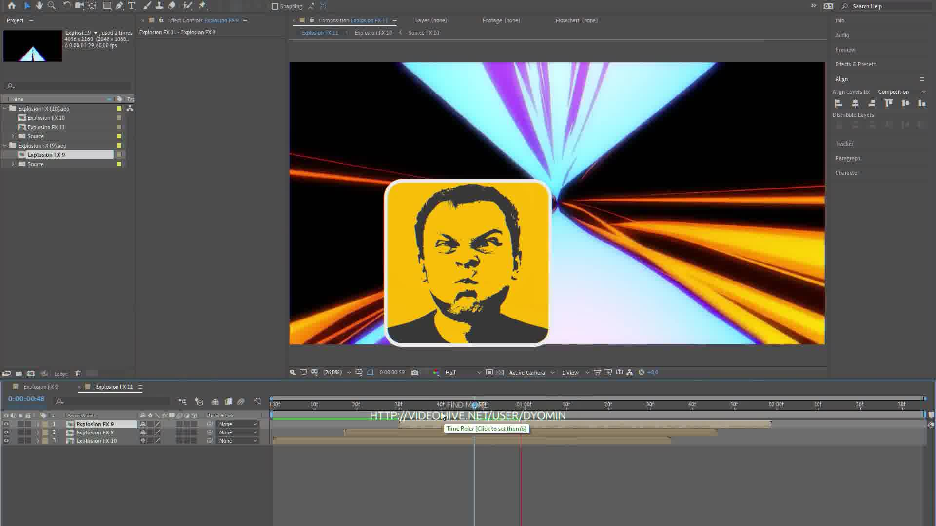 Toonhead (Explosion FX Set 1) Videohive 26141570 After Effects Image 12