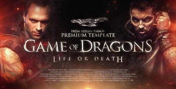 Trailer Game of Dragons - Download Videohive 14874432