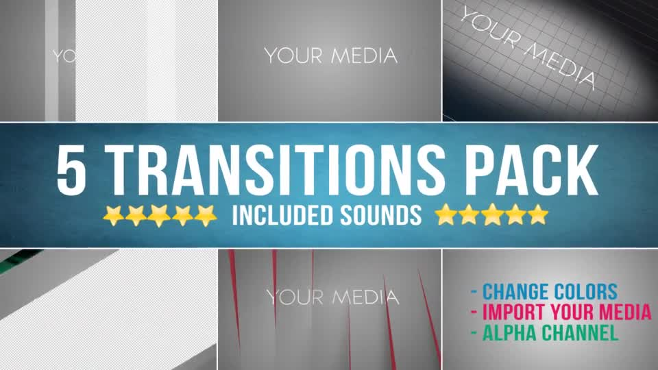 Transitions - Download Videohive 14538673
