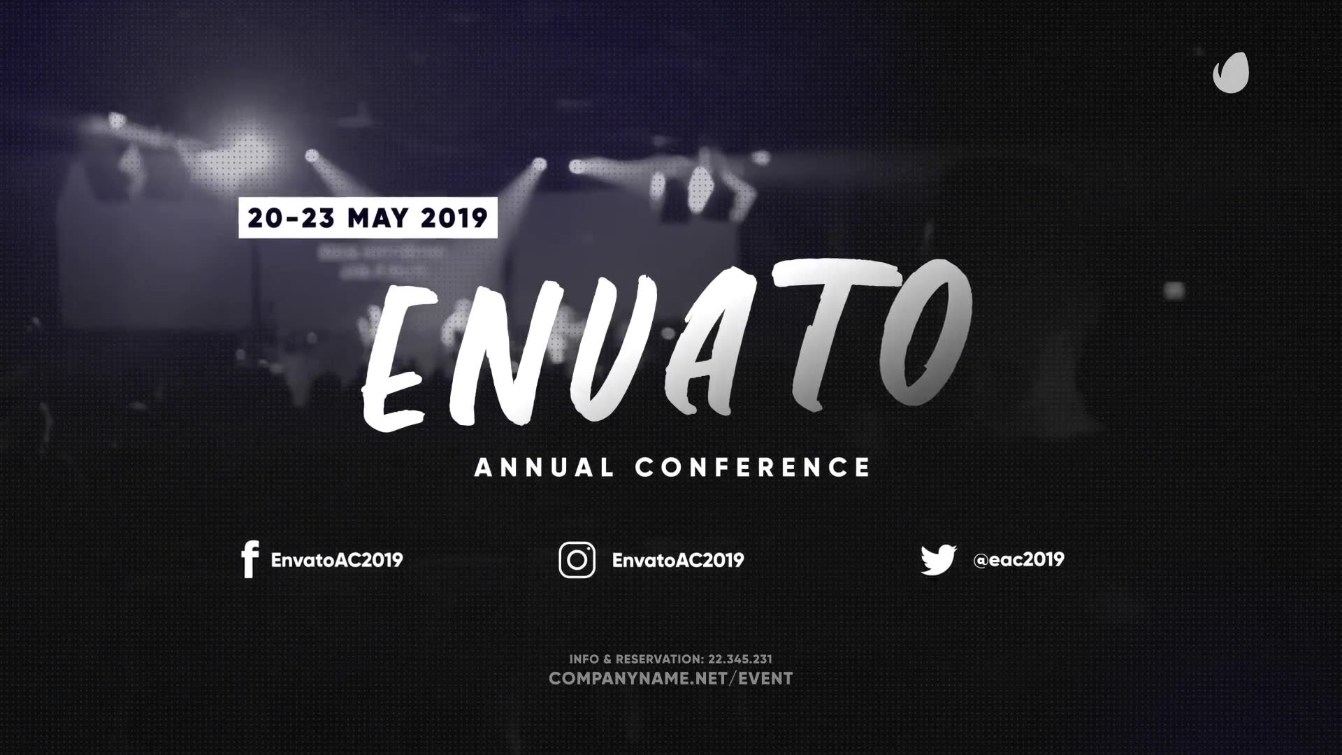 Trendy Event and Conference Promo - Download Videohive 23473016