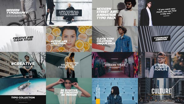 Trendy Titles Pack - Download Videohive 21656495