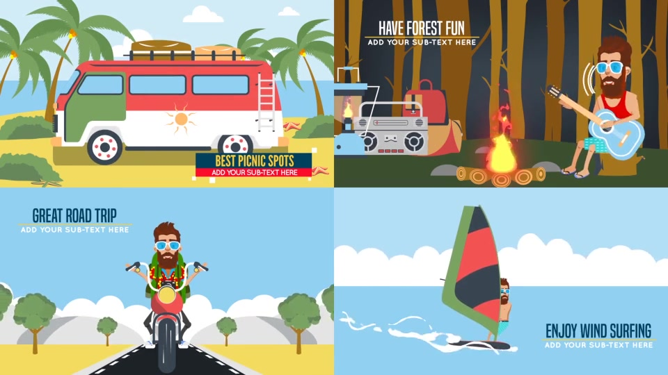 Trip and Travel Promotion with Hippy - Download Videohive 19674801
