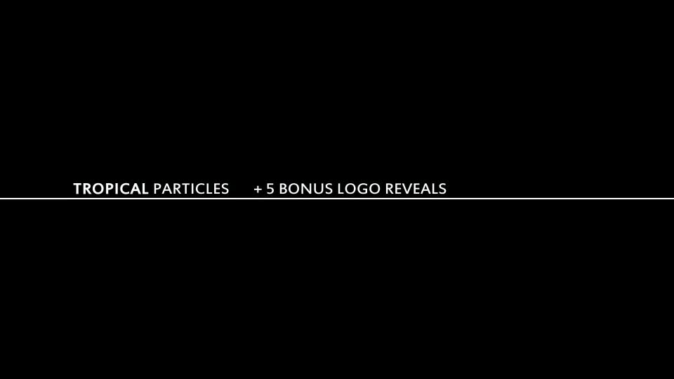 Tropical Particles Videohive 10558254 After Effects Image 1