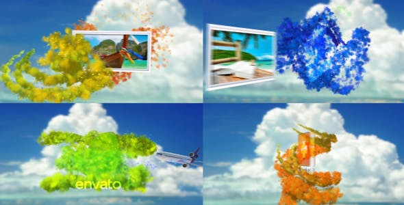 Tropical Particles - 10558254 Download Videohive