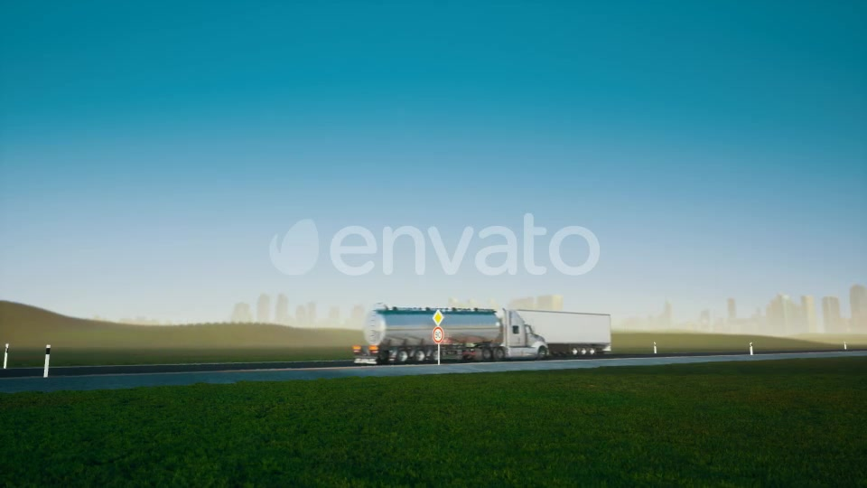 Trucks on the Road - Download Videohive 21608476