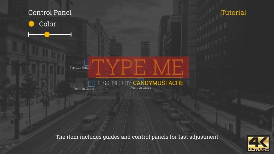 Type Me | Motion Titles Pack - Download Videohive 19342925