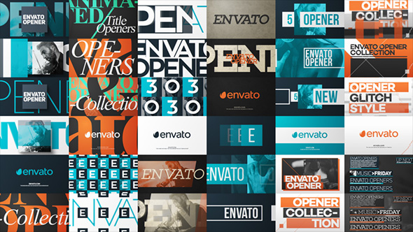 Typo Opener Pack - Download Videohive 12108167