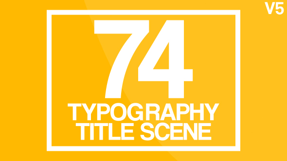 Typography 2 - Download Videohive 7331950