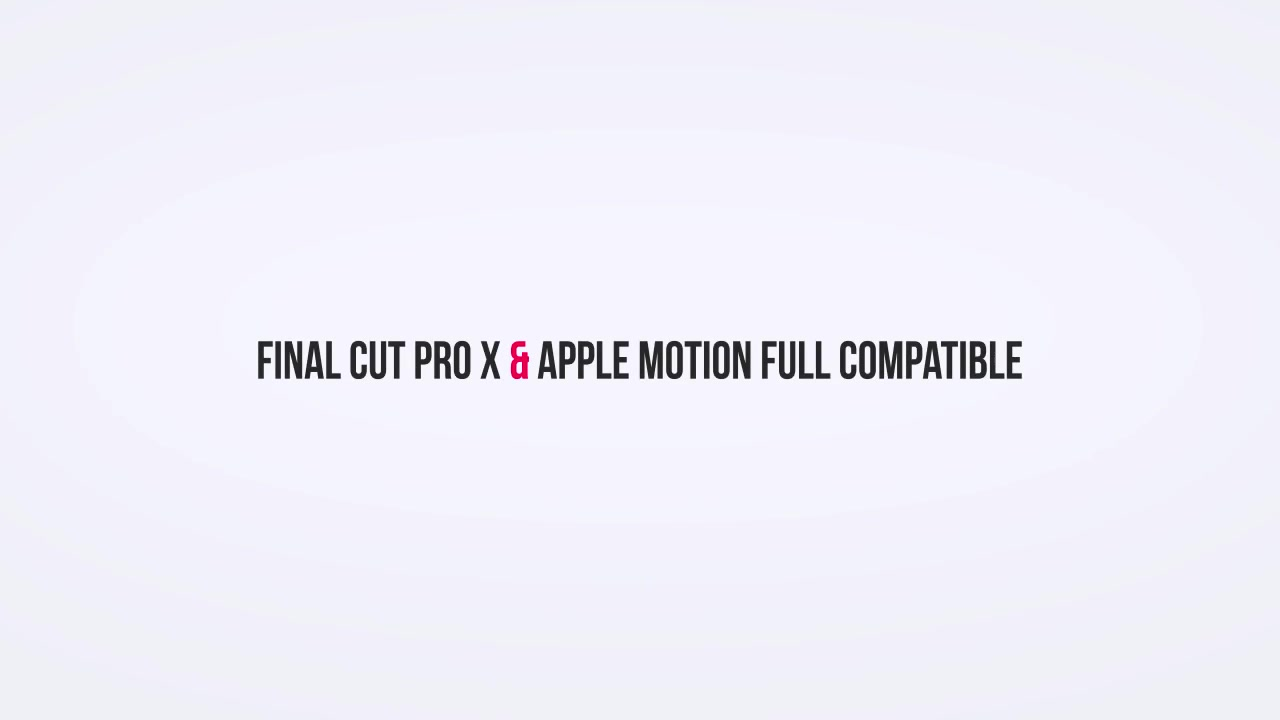 Typography Pack PRO | FCPX and Apple Motion - Download Videohive 21729093