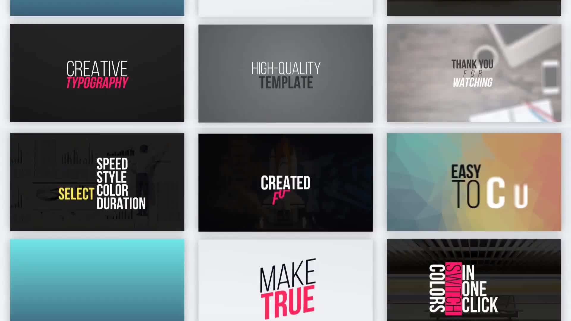 Typography Vol.1 - Download Videohive 21745449