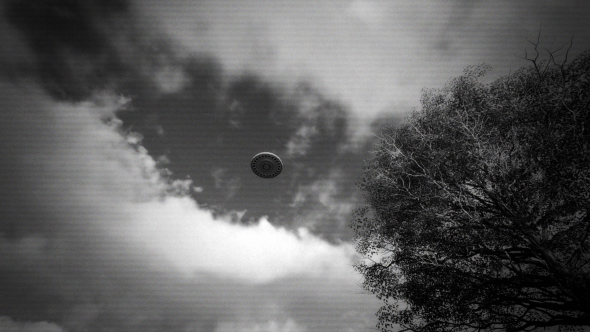 UFO Flying - Download Videohive 17127317