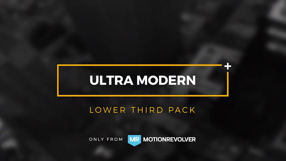 Ultra Modern Titles and Lower Thirds - Download Videohive 15092396