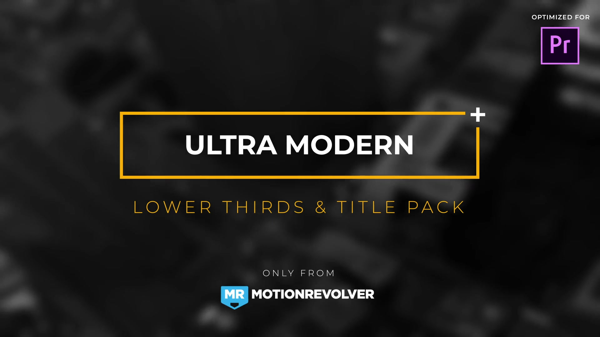 Ultra Modern Titles & Lower Thirds | MOGRT for Premiere Pro - Download Videohive 21879654