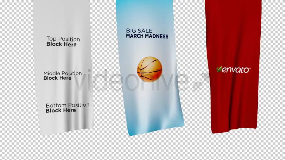 Unfolding Banners - Download Videohive 1763330