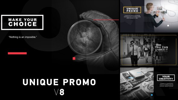 Unique Promo v8 - Download Videohive 18978632
