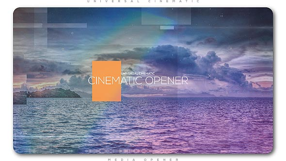 Universal Cinematic Opener - Download Videohive 20553820