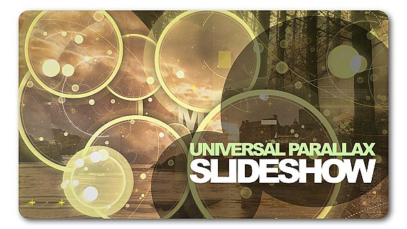 Universal Parallax Slideshow - Download Videohive 19893392
