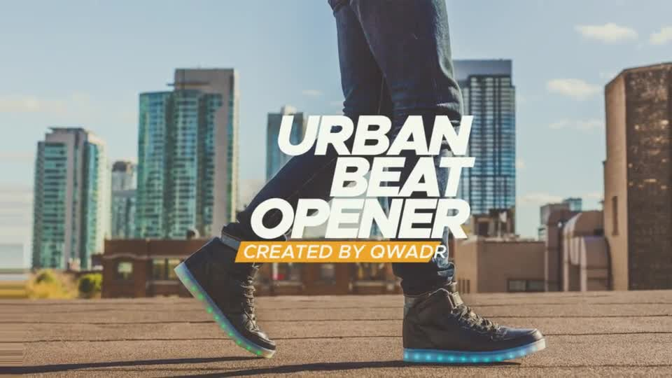 Urban Beat Opener - Download Videohive 20469702