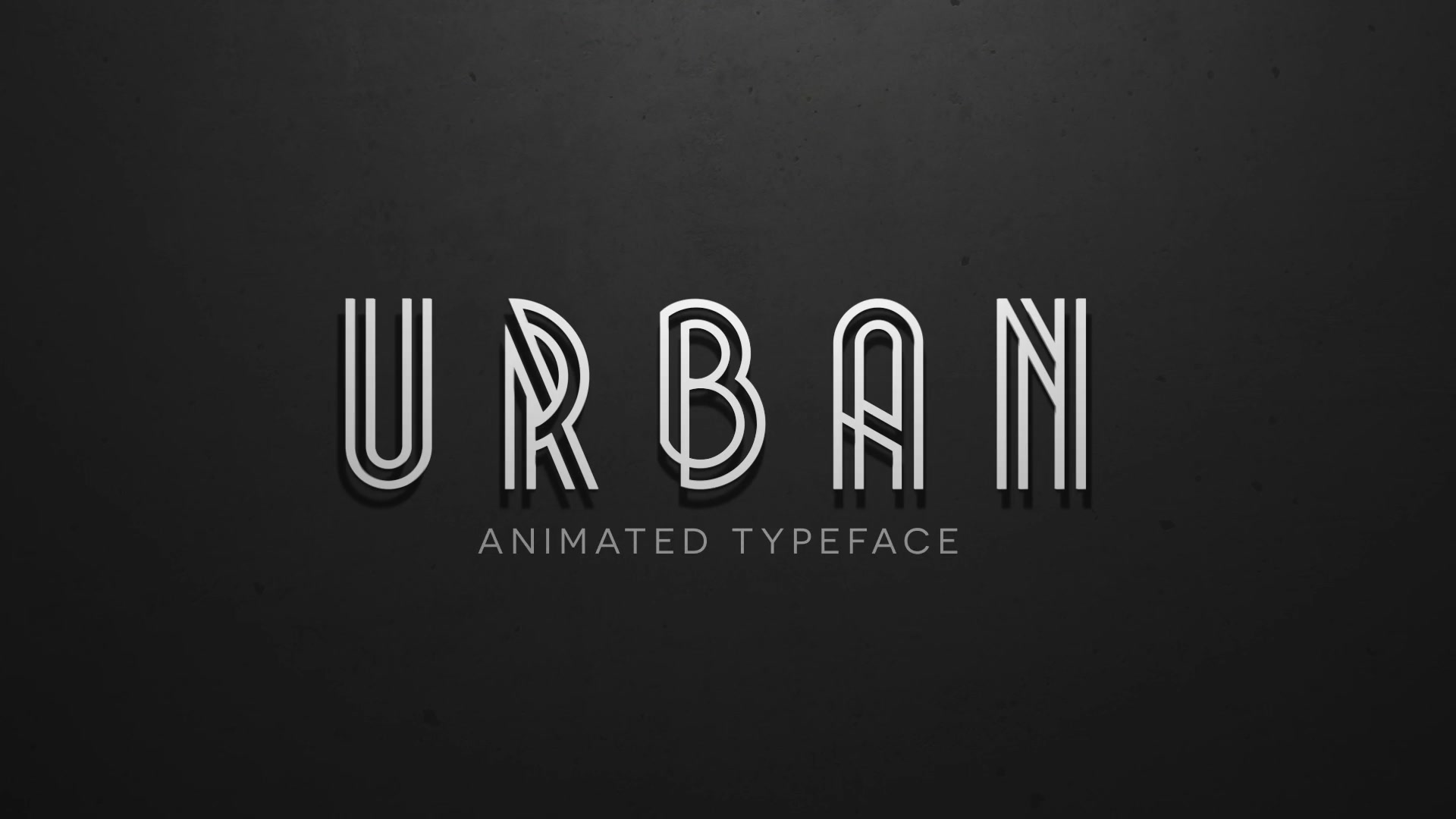 Urban Plus Animated Typeface and Title Pack - Download Videohive 12451522
