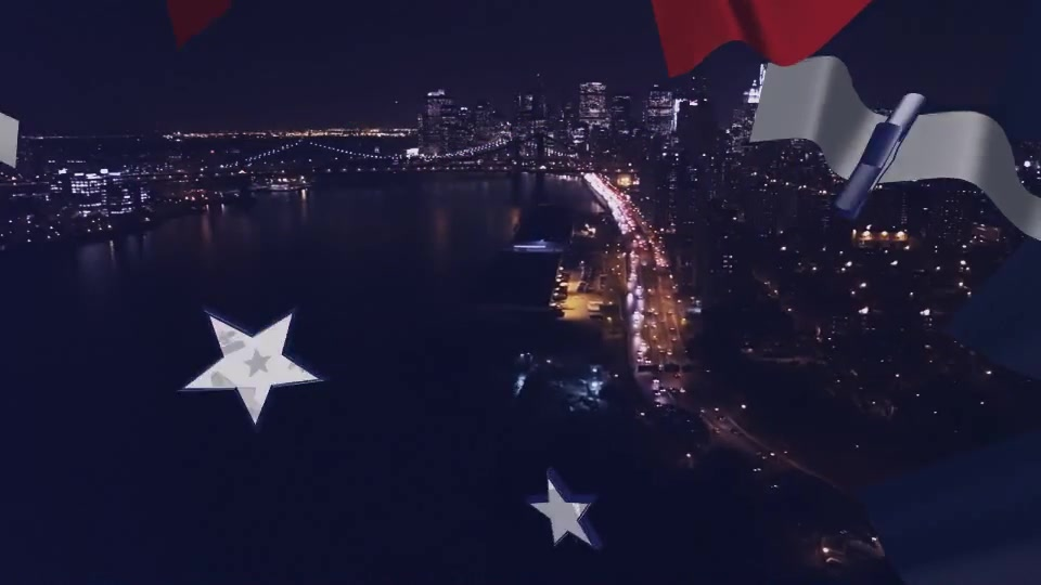 USA Flag Transitions - Download Videohive 21486417