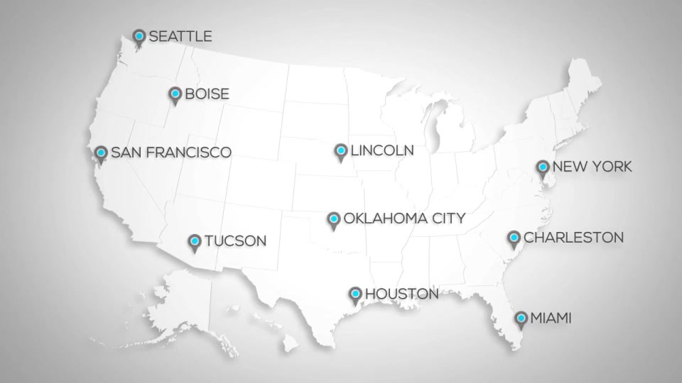 USA Map Kit - Download Videohive 14680226