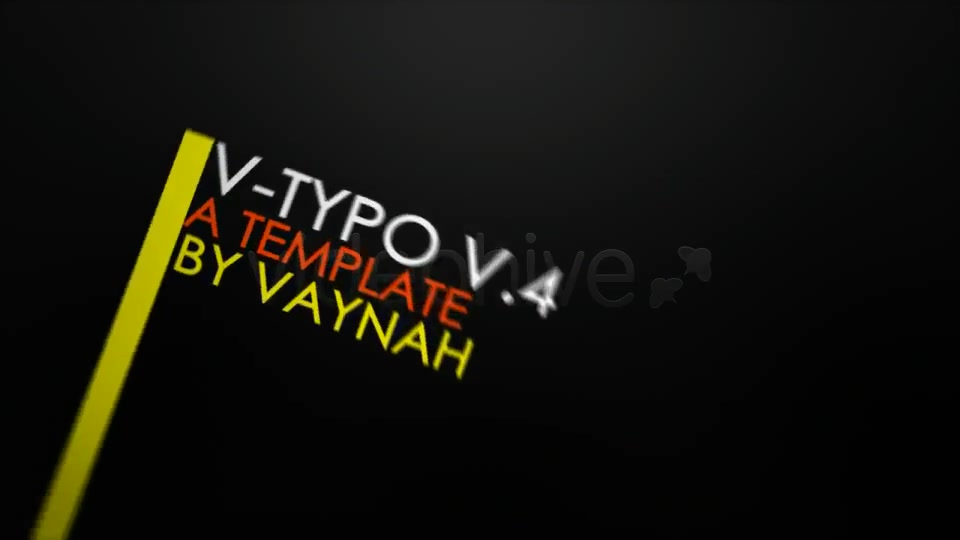 V Typo V.4 HD Typography - Download Videohive 124636