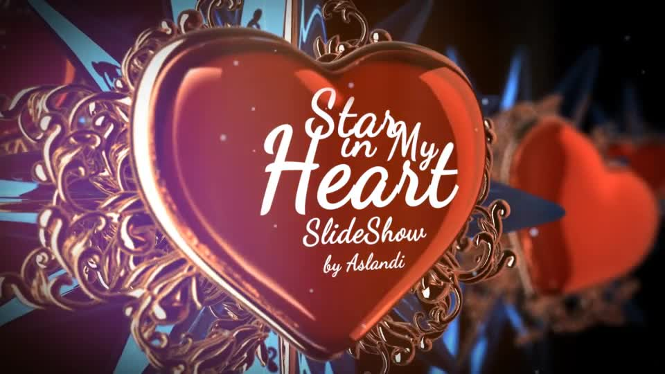 Valentine Day Star in My Heart SlideShow Photo Gallery - Download Videohive 14080381