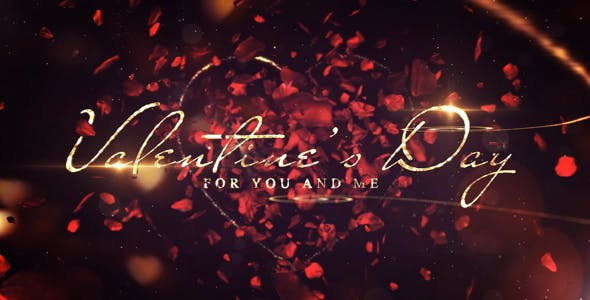 Valentines Day Love Message - 19372602 Download Videohive