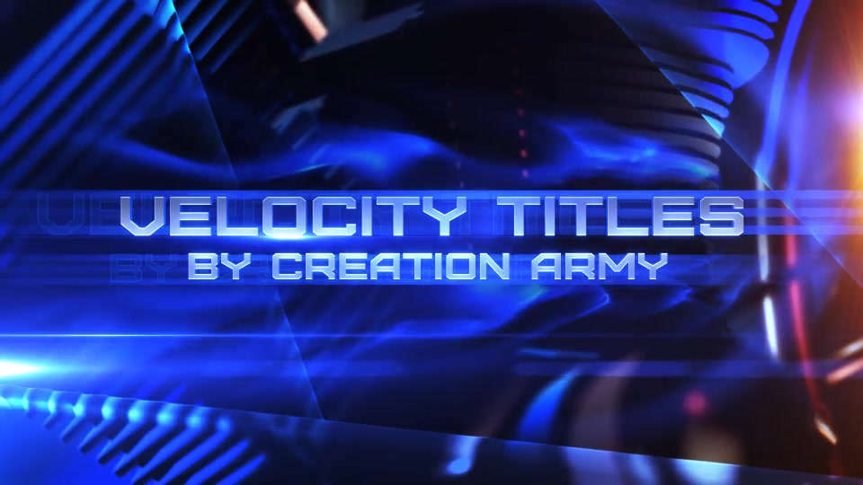 Velocity Titles - Download Videohive 18285280