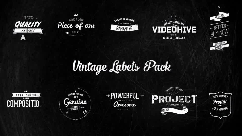 Vintage Labels - Download Videohive 6578459