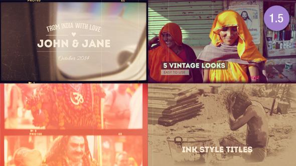 Vintage Memories Projector Photo Slideshow - Download