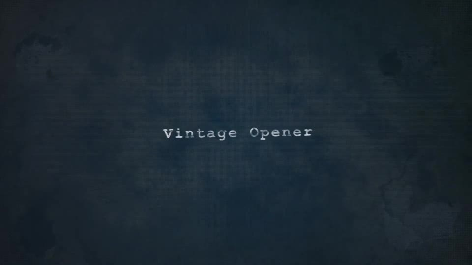 Vintage Opener - Download Videohive 14666032