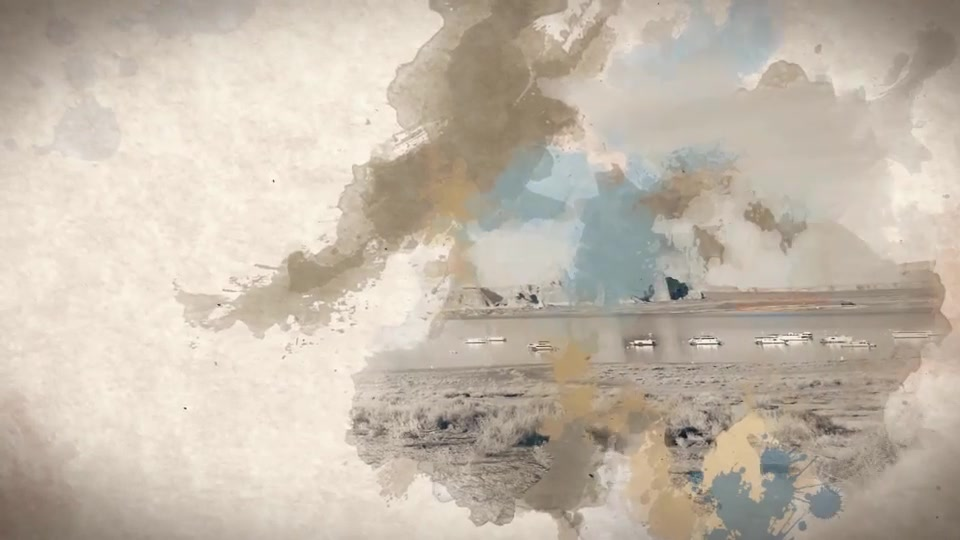 Watercolor & Ink Slideshow - Download Videohive 8514684
