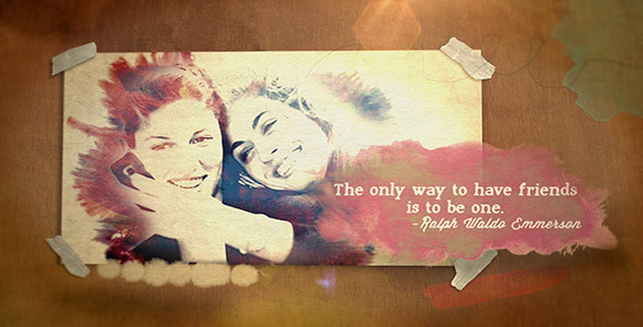 Watercolor Quotes Portrait - Download Videohive 4496288