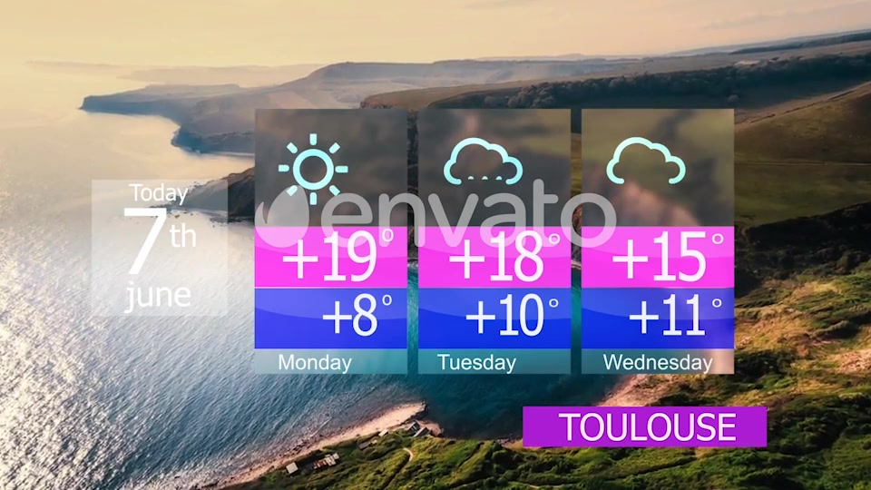 Weather forecast Videohive 23727885 After Effects Image 4
