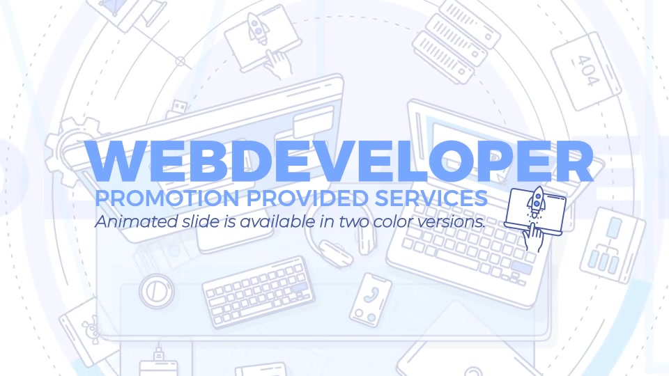 Web Developer Promo Videohive 24644622 After Effects Image 2