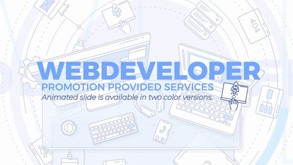 Web Developer Promo - 24644622 Download Videohive
