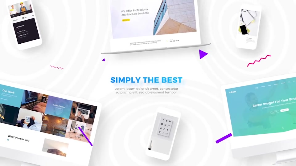 Website / Design & Development Agency Presentation - Download Videohive 20725490