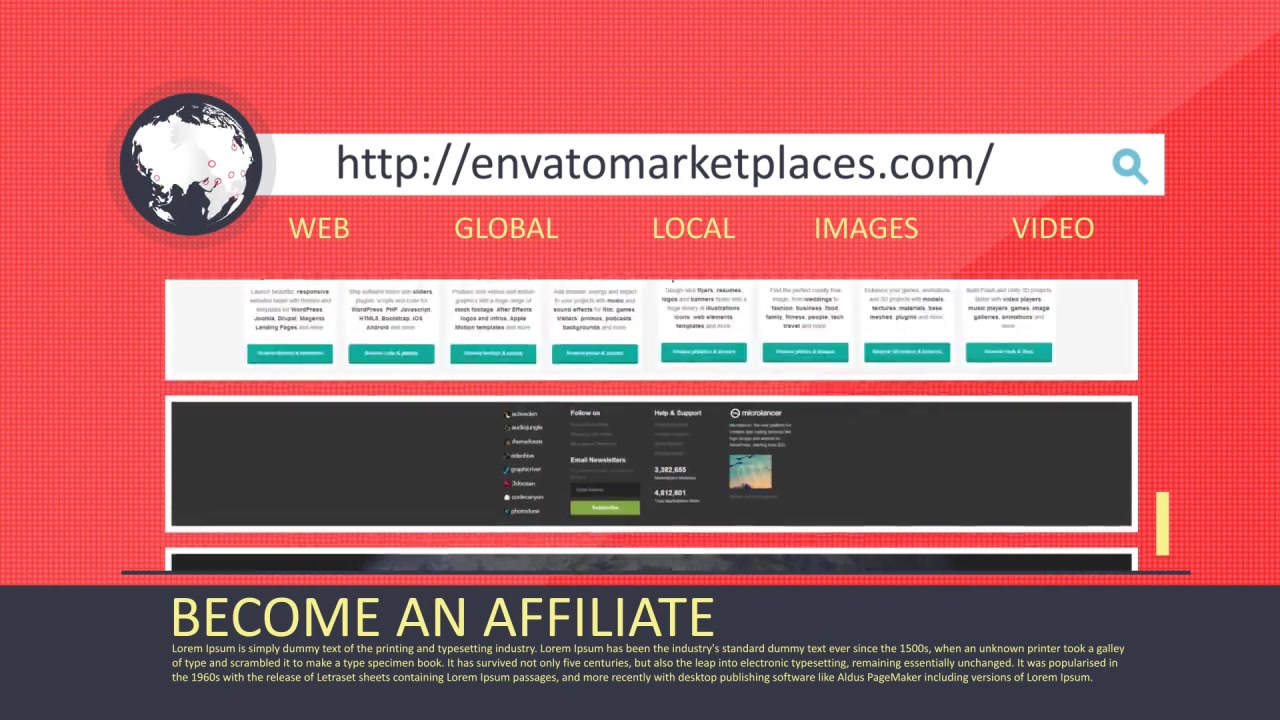 Website or Webpage Stylish Promotion - Download Videohive 6619169