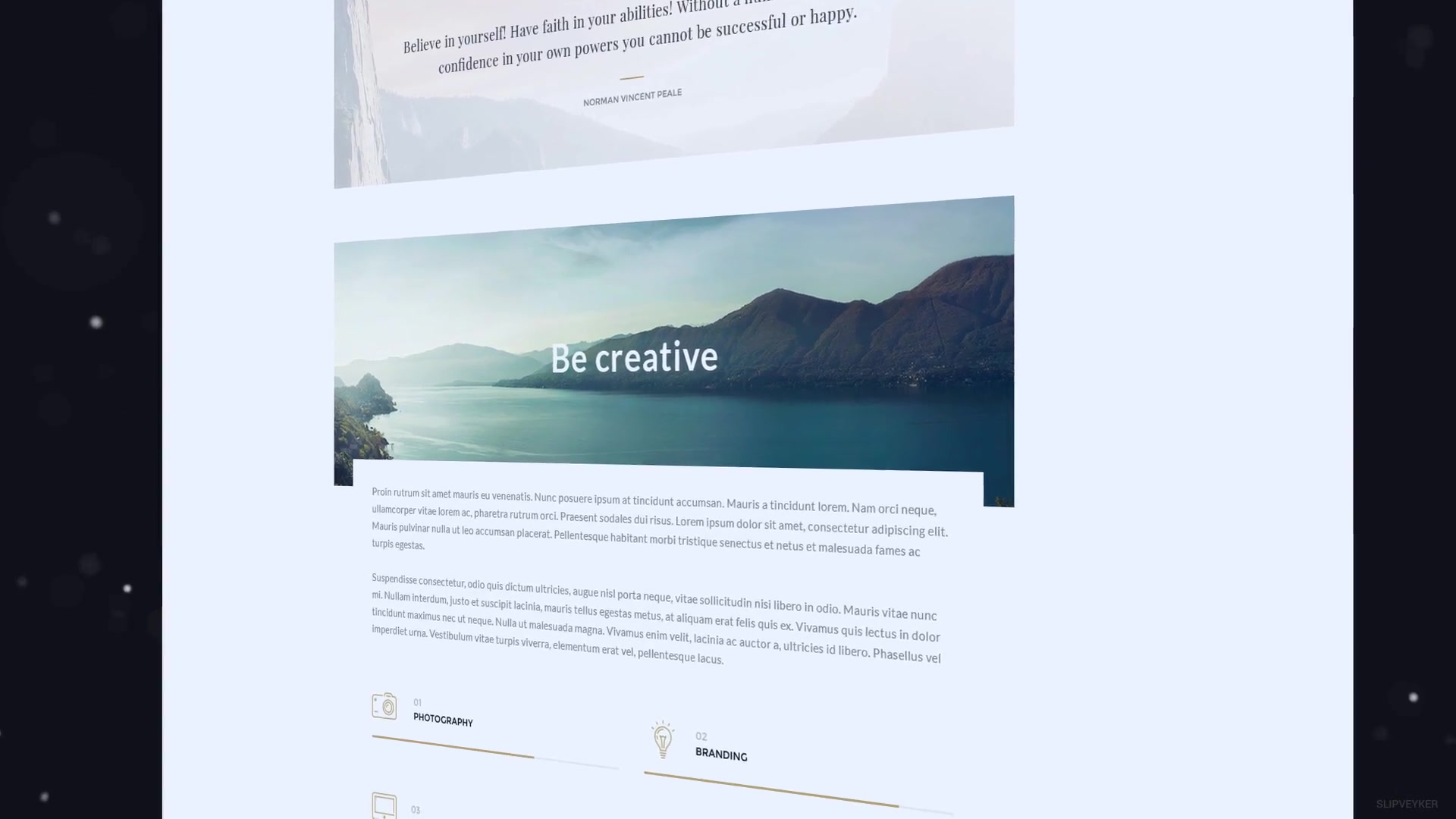 website presentation minimal download videohive 18950580