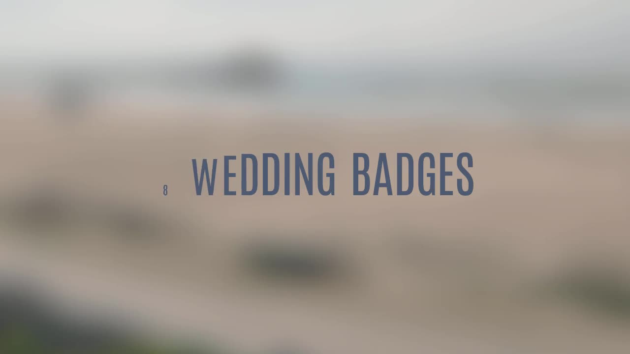 Wedding Badges - Download Videohive 11403215